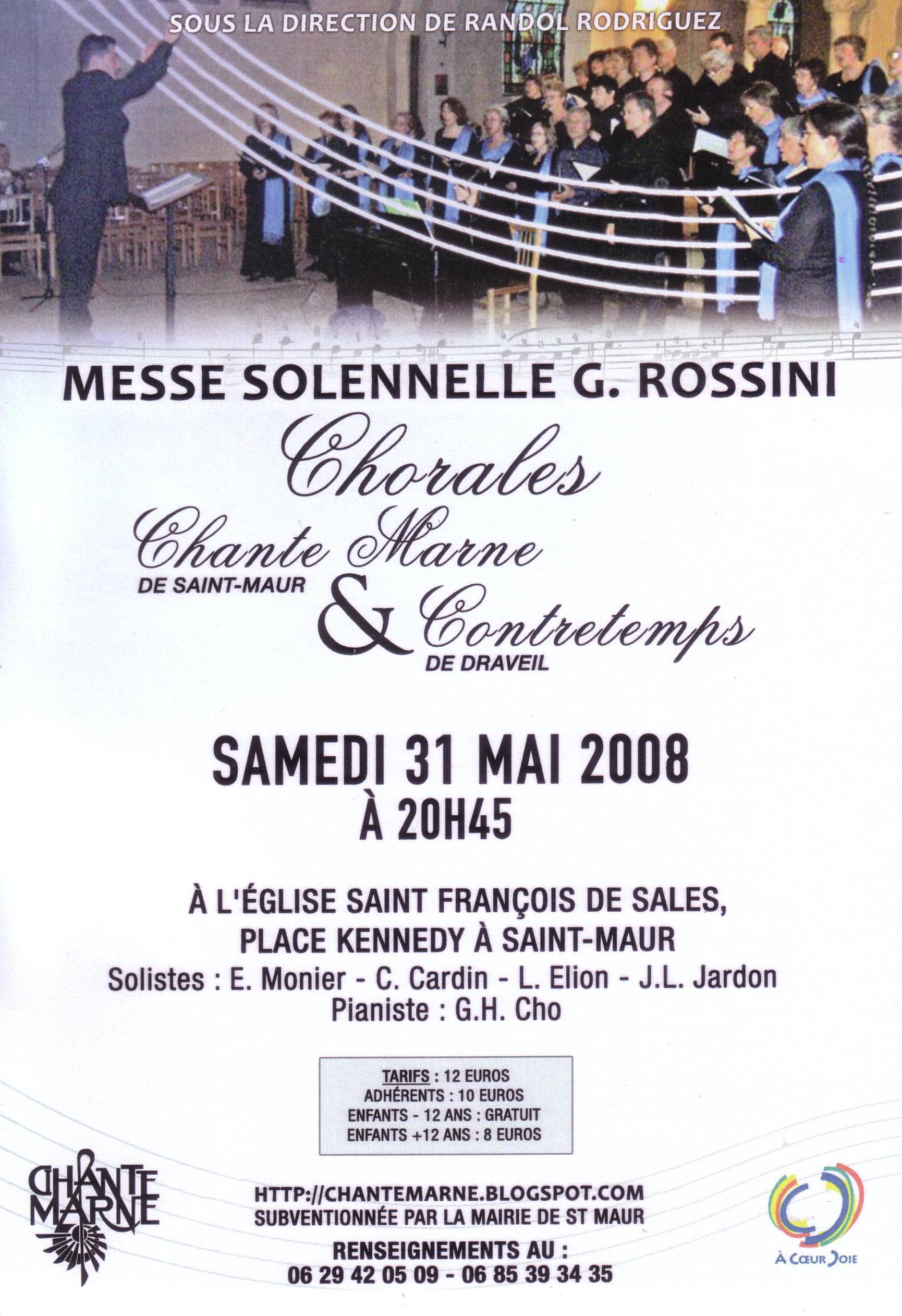 2008 Affiche concert