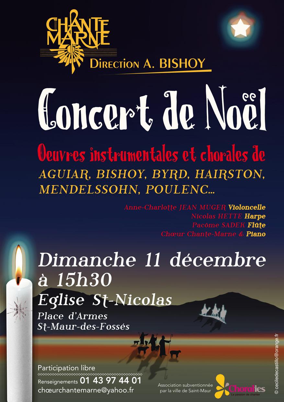 2011.12 Affiche concert Noël